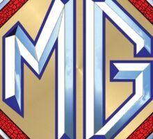 MG vintage cars Authorized service Sticker
