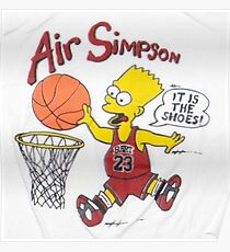 AIR SIMPSON-IT'S IN THE SHOES Poster