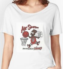 """AIR SIMPSON BLACK BART """"YOU CAN'T TOUCH THIS"""" Women's Relaxed Fit T-Shirt"""