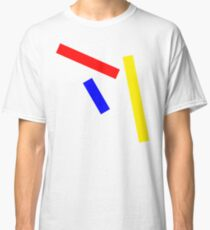 Abstract basic colors Classic T-Shirt