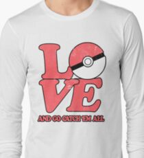 Poke-Love #2 Long Sleeve T-Shirt