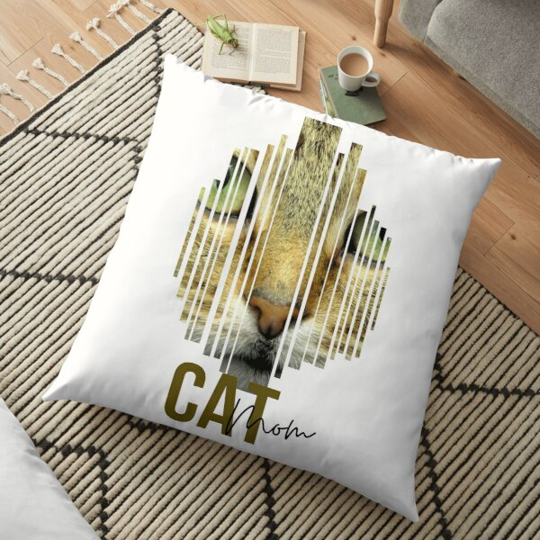 Find Your Thing Cat Mom Gift Floor Pillow
