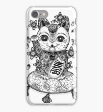 Maneki Neko  iPhone Case/Skin