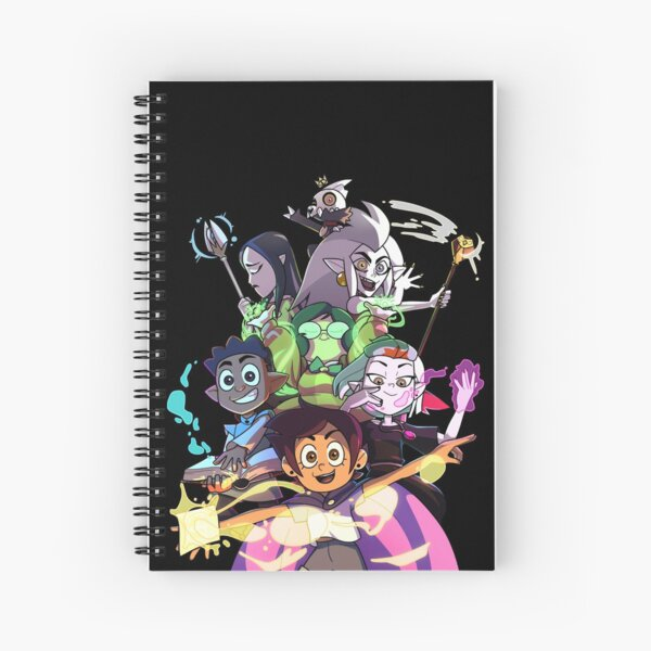 Colours of magic - Version 2 Spiral Notebook
