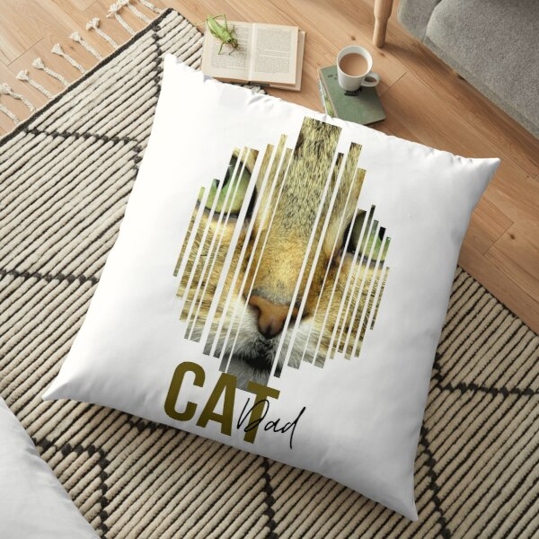 Find Your Thing Cat Dad Gift Floor Pillow