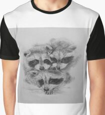 Racoons Graphic T-Shirt