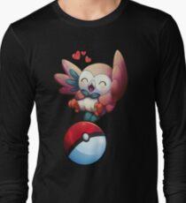 Rowlet Pokemon Sun and Moon Long Sleeve T-Shirt