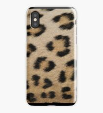 Leopard Skin Pattern - Natural Camouflage and Art iPhone Case/Skin