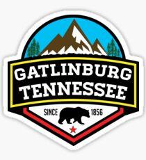 GATLINBURG TENNESSEE GREAT SMOKY MOUNTAINS NATIONAL PARK SMOKIES Sticker