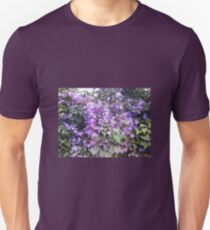 Mauve Hedge Flower T-Shirt