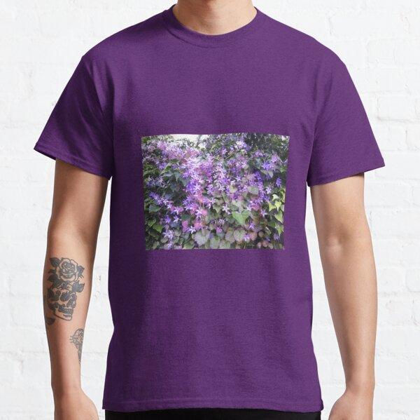 Mauve Hedge Flower Classic T-Shirt