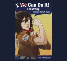 Mikasa: I Can Do It! | Unisex T-Shirt