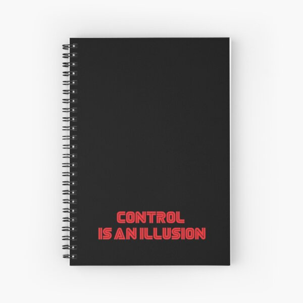 Mr. Robot - Control is an illusion Spiral Notebook