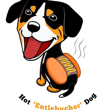 Hot Entlebucher Dog by salotte