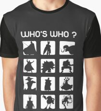 Who's who ? (bad guys edition) Graphic T-Shirt