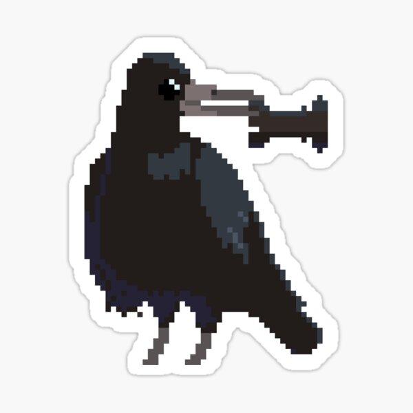 Pixel Rook Sticker