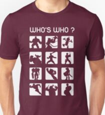 Who's who ? (normal difficulty) Unisex T-Shirt