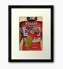 Willis! Framed Print