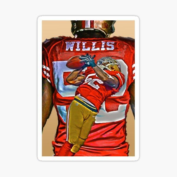 Willis! Sticker