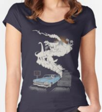 Fossils Refueled Women's Fitted Scoop T-Shirt