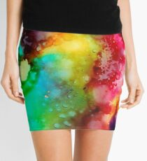 Nonsensical Allegory Mini Skirt