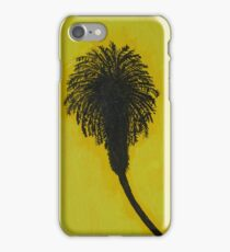 Black and Yellow Palms iPhone Case/Skin