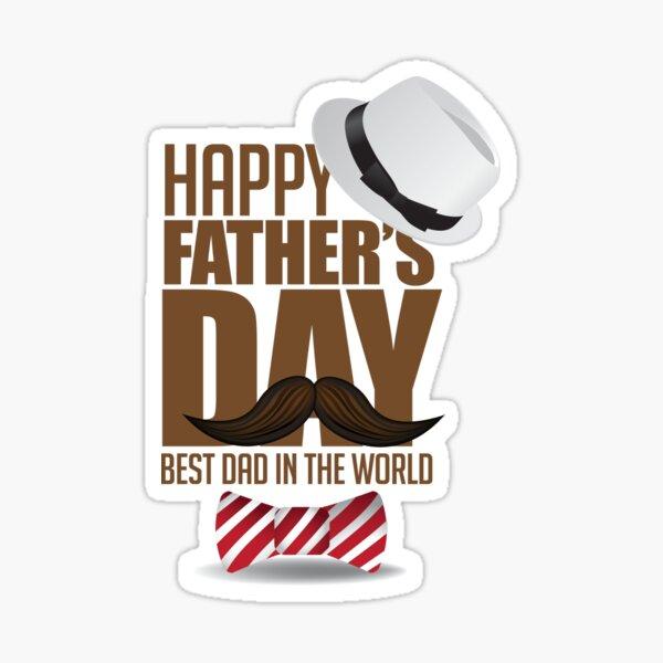 Happy Father's Day Sticker
