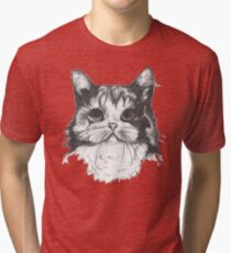Hey there Kitty Cat!! Tri-blend T-Shirt