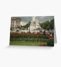 Bottom Portion of the Queen Victoria Memorial Greeting Card