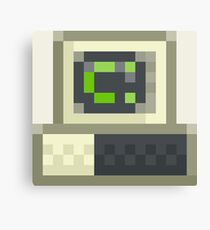 Pixel IBM PC Canvas Print