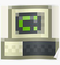 Pixel IBM PC Poster