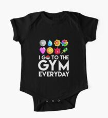 Pokemon - I GO TO THE GYM EVERY DAY - Transparent Kids Clothes
