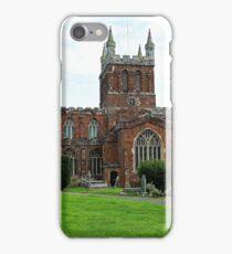 The Church of Crediton Devon. iPhone Case/Skin