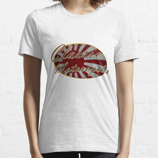 Classic Japanese Motorcycle Design Essential T-Shirt
