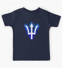 Trident & Flowers - Percy Jackson Kids Tee
