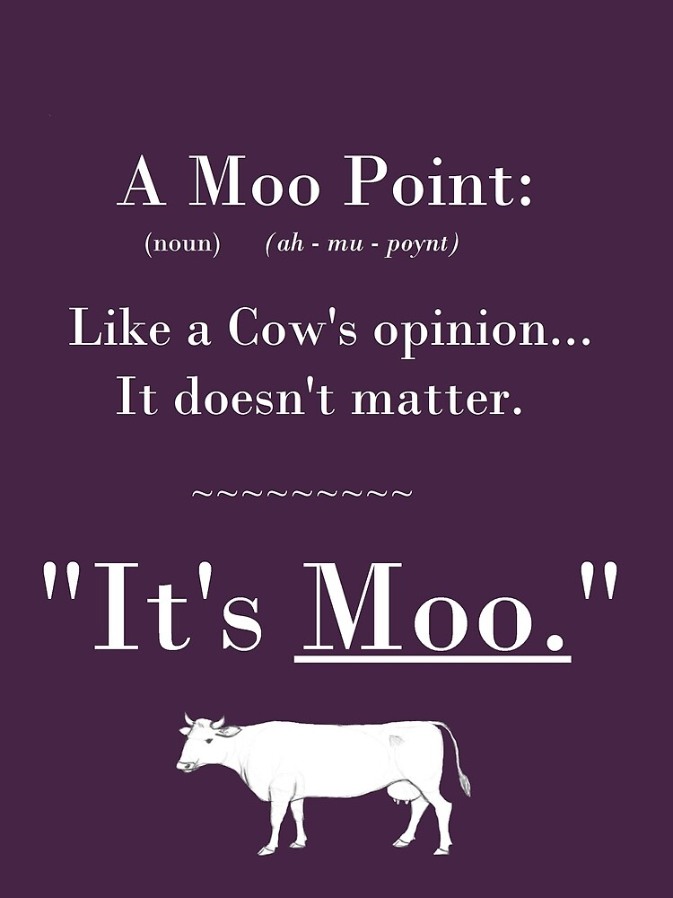 A Moo Point. by beckiboo93