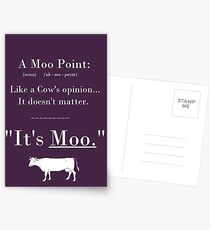 A Moo Point. Postcards