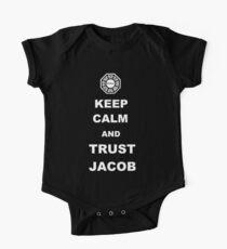 Keep Calm and Trust Jacob One Piece - Short Sleeve