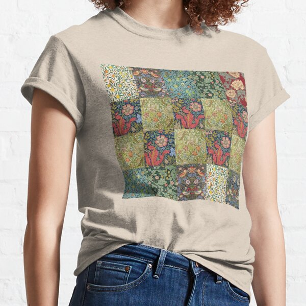 William Morris Pattern Collection Classic T-Shirt
