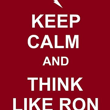 Think like Ron by beckiboo93