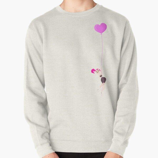 Mitzi Heart Balloon Pullover Sweatshirt