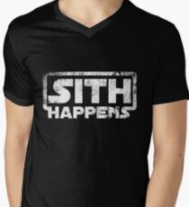 Sith happens Men's V-Neck T-Shirt