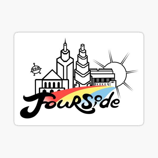 EB-Fourside Pride Sticker