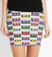 Cassettes In a Row Mini Skirt
