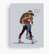 Klance at early stage! Canvas Print