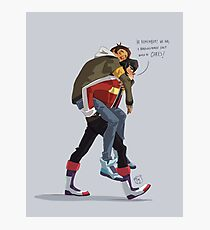 Klance at early stage! Photographic Print