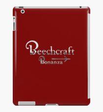 Beechcraft Bonanza Aircraft USA iPad Case/Skin