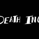 Death Inc. Logo (White) by notsotiny