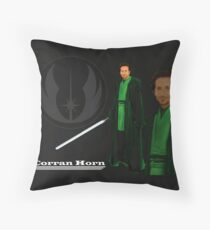 Corran Horn Throw Pillow