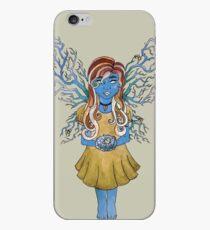 Laurel - Blue iPhone Case